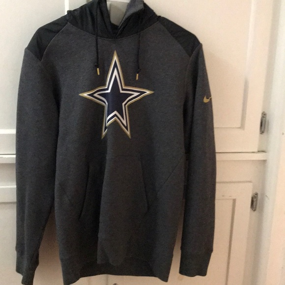 100% authentic d4a5b df4fb Nike Men's Dallas Cowboys sweater hoodie pullover